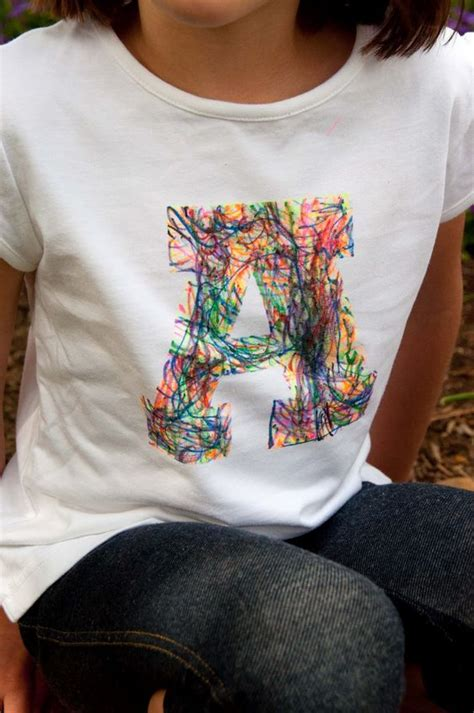 Painting T Shirts With Sharpies by Fabric Markers Freezer Paper And Scribble On