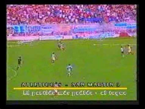 Atletico Tucuman 5 - 2 San Martin - YouTube Atletico Tucuman