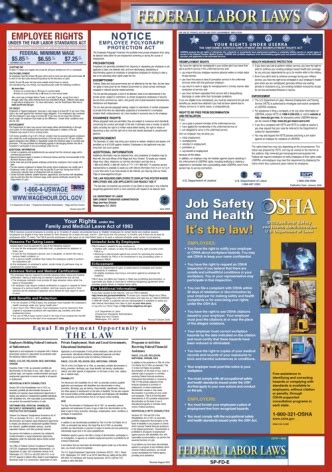 printable fmla poster federal labor law poster no fmla nlra
