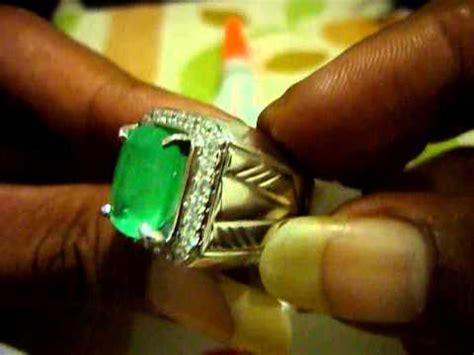 Emerald Ring Memo emerald beryl jamrud colombia 6 3ct memo tgl