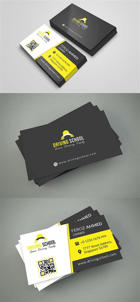 300 dpi business card template free driving school business card psd template creativetacos