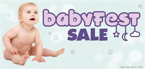 babies r us canada babyfest sale save up to 40