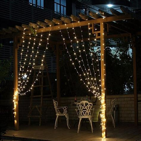 wedding lighting decor home decor led fairy light curtain 3mx3m 300 led fairy curtain strip icicle decorative string