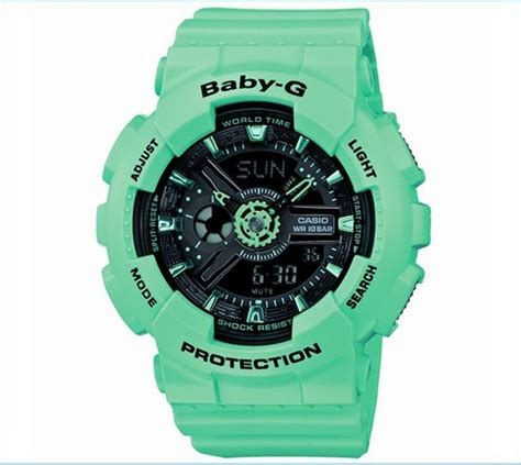 Jam Tangan Casio Babyg White Green best 25 casio baby g shock ideas on baby g
