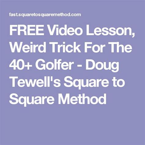 square to square golf swing doug tewell 171 best images about golf on pinterest jordan spieth