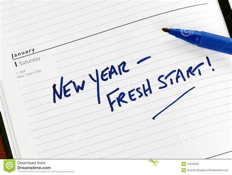 fresh new year new year fresh start stock photo image of fresh reminder