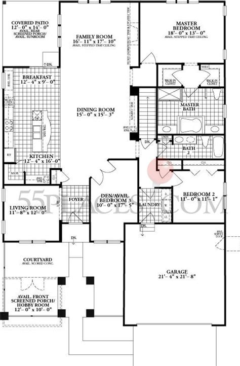 louvre floorplan 2183 sq ft carillon club 55places com