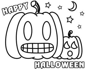 Scary Halloween Mask Halloween Colouring Games Festival Collections