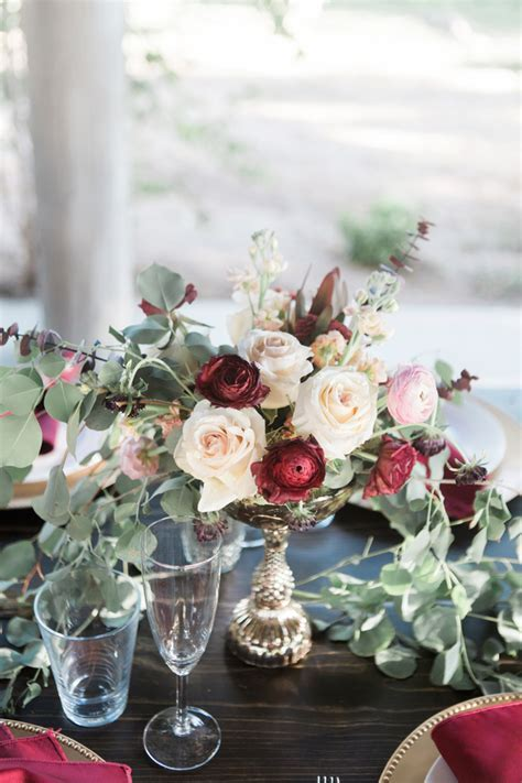 Rustic Blush and Burgundy Medella Vina Ranch Fall Wedding