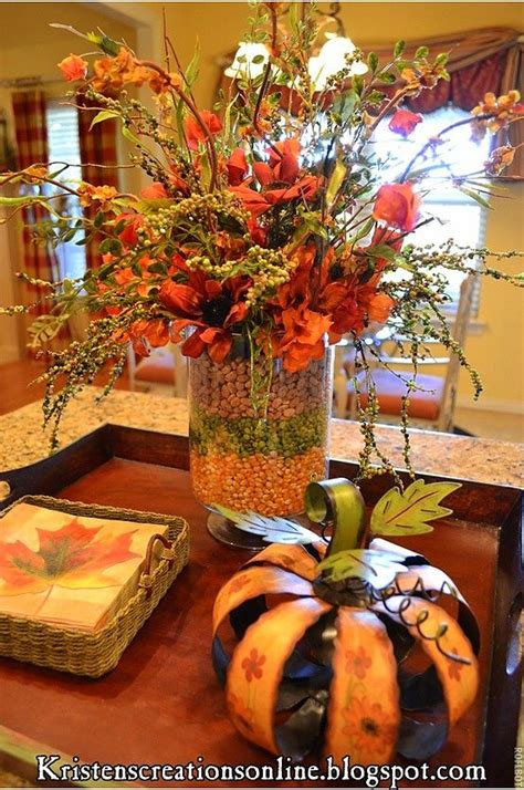 pinterest fall decorations for the home fall table centerpiece idea flower arranging pinterest