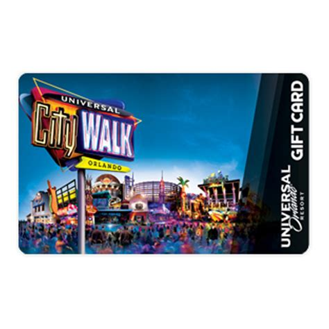 Logo Gift Cards - your wdw store universal collectible gift card citywalk logo