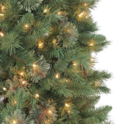 home accents holiday 10 ft juniper spruce quick set