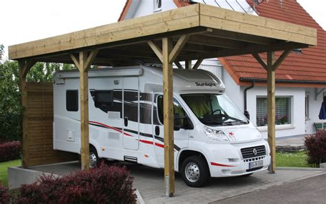 carport gro carport wohnmobil affordable carport fr das wohnmobil
