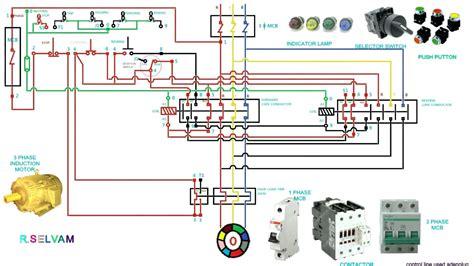 contactor wiring diagram start stop  wiring diagram