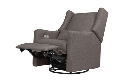 electronic recliner kiwi electronic recliner and swivel glider with usb port