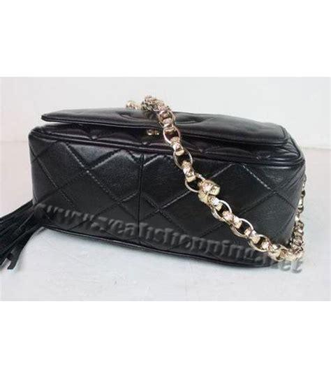 Replica Chanel Purse by Chanel 2010 New Black Lambskin Small Handbag Replica