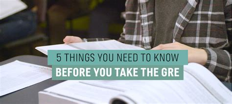 Do I Need To Take The Gre For An Mba by The 5 Most Important Things To Before You Take The Gre