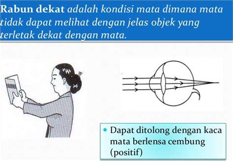 Lensa Cekung Hp mata sebagai alat indra