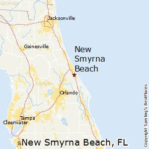 smyrna florida map best places to live in new smyrna florida