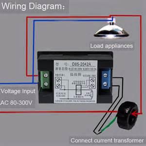 usefulldata com good ac volt ammeter wiring black version