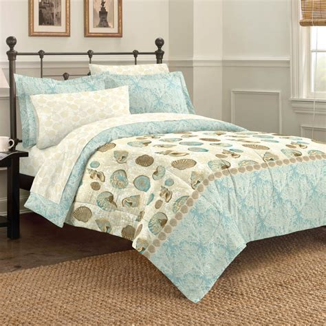 Beach comforters amp quilts ease bedding with style