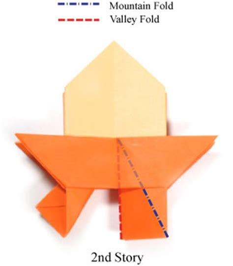 Origami Stories - how to make a seven story origami pagoda page 9