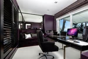 purple office decor 21 office color designs decorating ideas design trends