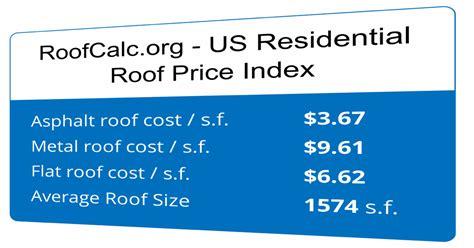 roof cost asphalt shingles flat