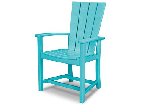 Patio Chair Plastic Replacements by Polywood 174 Quattro Recycled Plastic Adirondack Dining Chair