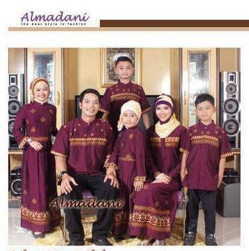 Kemeja Pasangan U S Army 20 model baju muslim pasangan keluarga modern terbaru
