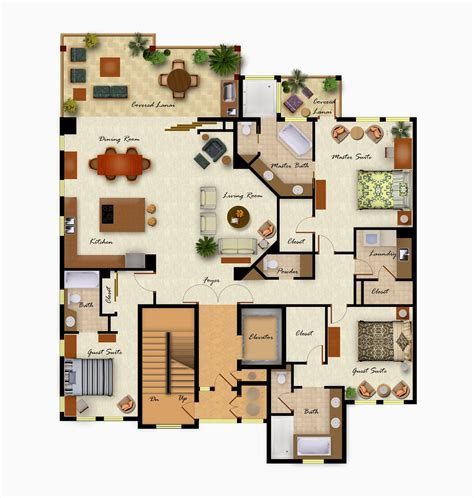 plan decor foundation dezin decor colorful furniture floor layout