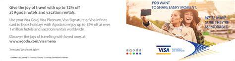 agoda visa visa agoda com offers credimax