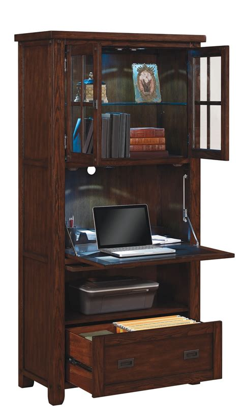 secretary desk with file storage twin star international hidden desk looks like a