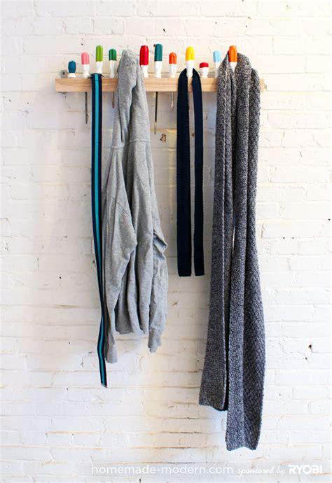 A Coat Rack by Modern Ep19 Screwdriver Coat Rack