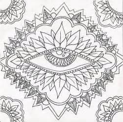 psychedelic coloring book free coloring pages of trippy eye