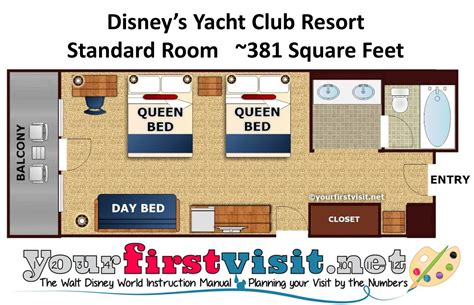 Disney Club Floor Plan - the deluxe resorts at walt disney world yourfirstvisit net