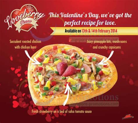 pizza hut valentines pizza hut valentine s day loveberry special pizza 13 14
