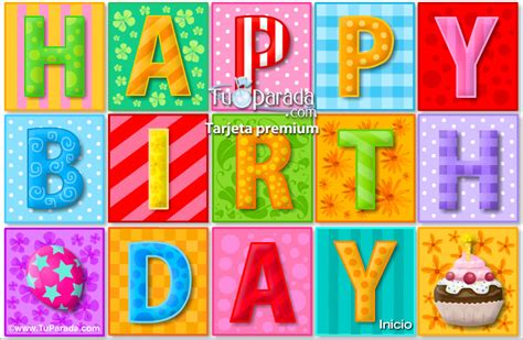 imagenes de happy birthday en movimiento happy birthday con movimiento cumplea 241 os tarjetas