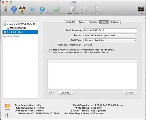 format lacie external hard drive mac partitioning new lacie drive fails to mount on mac osx