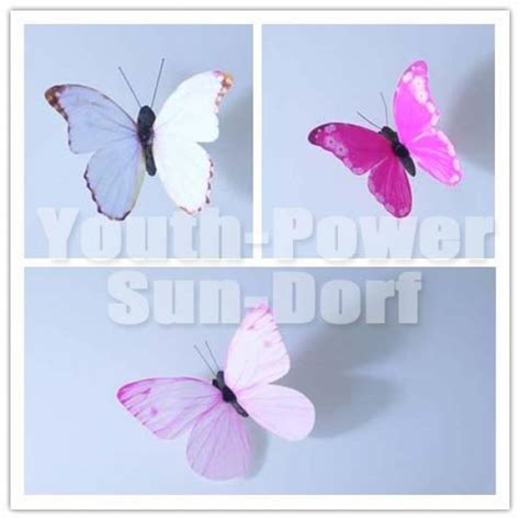 12pcs 3d wall sticker butterfly home decor decorations