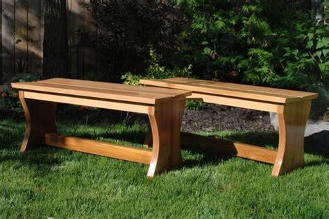 custom outdoor benches custom outdoor cedar garden benches by clark wood