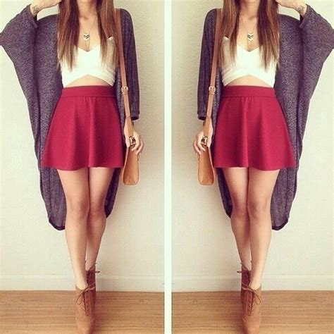 Pt Mjni Rosemarry Lace Maroon high waisted skirts