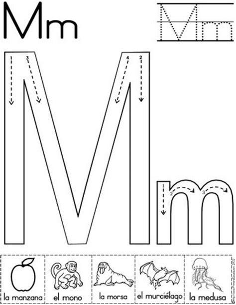 letra m para imagui las 25 mejores ideas sobre actividades alfabeto en y m 225 s letras preescolares