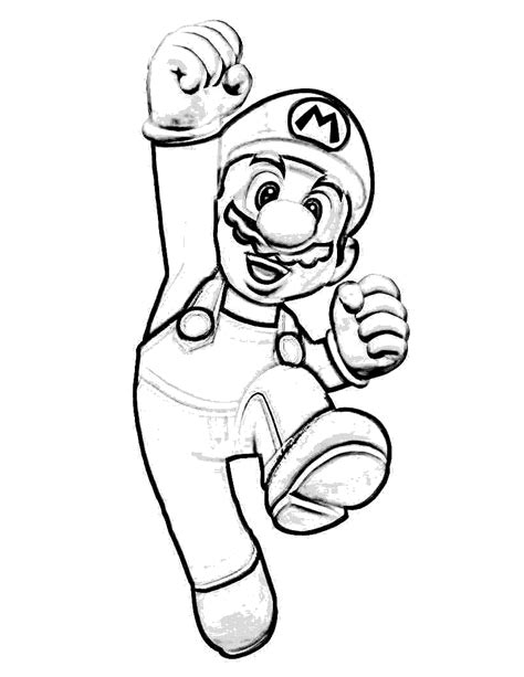 Printable Mario Images | free printable mario coloring pages for kids