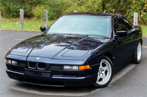 old cars and repair manuals free 1994 bmw 8 series instrument cluster find used 1994 bmw 850csi m8 6speed manual v12 5 6l 69k mi southern serviced carfax rare in
