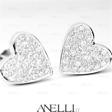 orecchini con cuori a pav 232 di diamanti anelli it