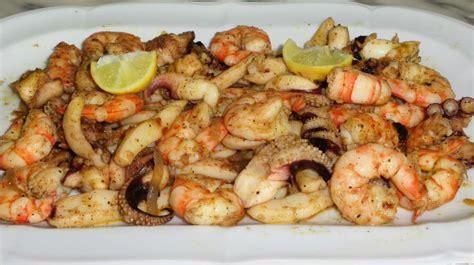 cuisiner des fruits de mer recette de fruits de mer saut 233 s غلال البحر بالثوم