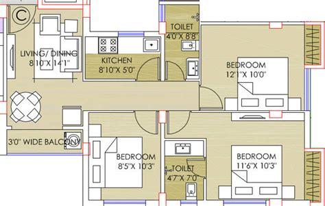 meadows type 2 floor plan deeshari meadows in nayabad kolkata price location map