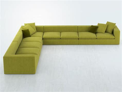 sofa land land sofa 3d model bonaldo