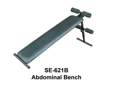 abdominal bench curved bench